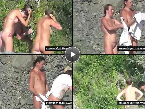 hot nudist women video